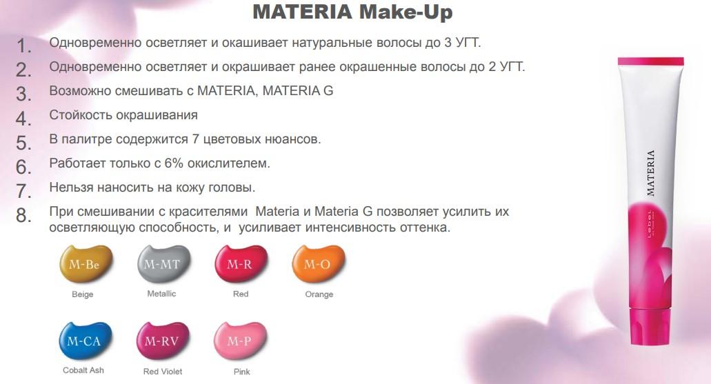 материя мейк-ап палитра