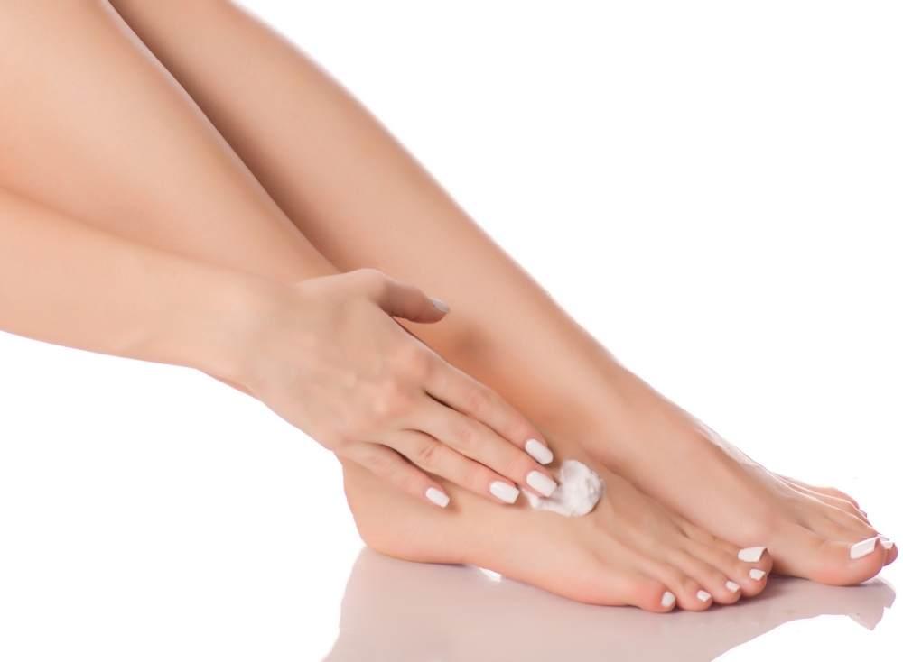 крем для ног и ногтей