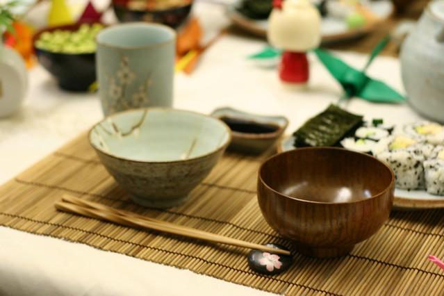 японская сервировка стола