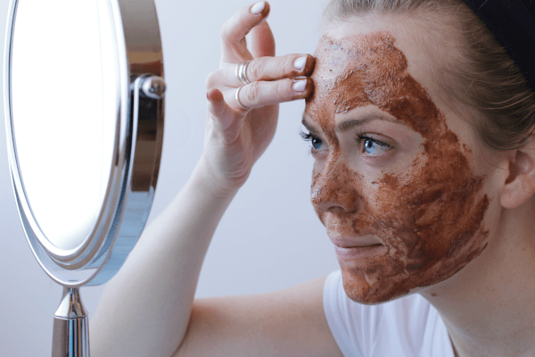 cinnamon face mask