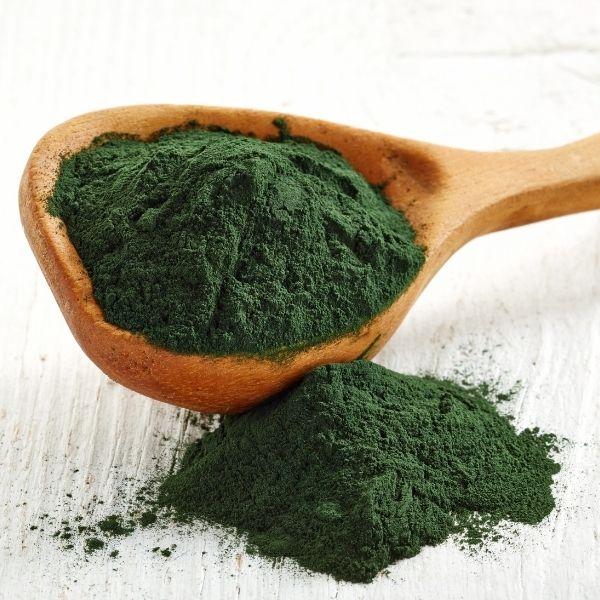 спирулина зеленая в порошке