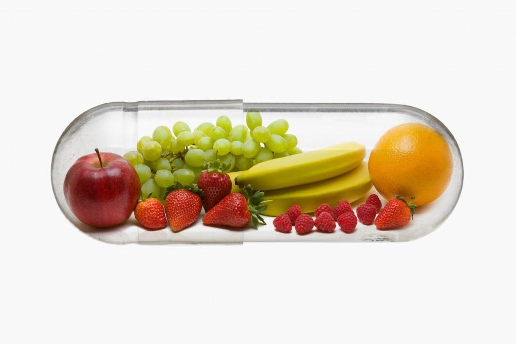 фрукты в капсуле