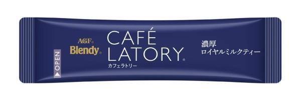 Растворимый молочный чай AGF Brendy Cafe Latte Stick Rich Royal Milk Tea