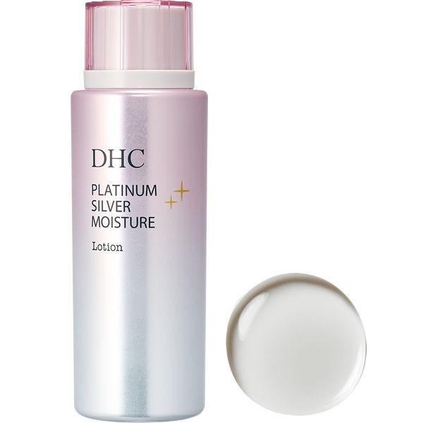 Антивозрастной лосьон с наноколлоидным серебром и платиной DHC Platinum Silver Moisture Lotion