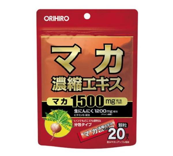 Экстракт маки и чеснока Orihiro