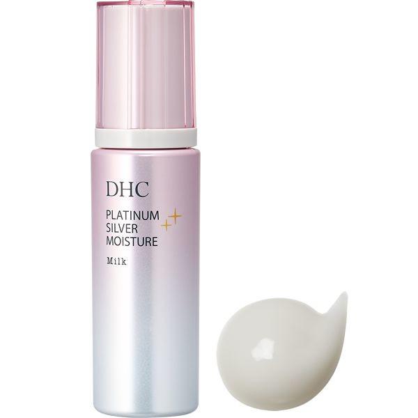 Антивозрастное молочко DHC с наноколлоидным серебром и платиной Platinum Silver Nanokolloid Milky Essence