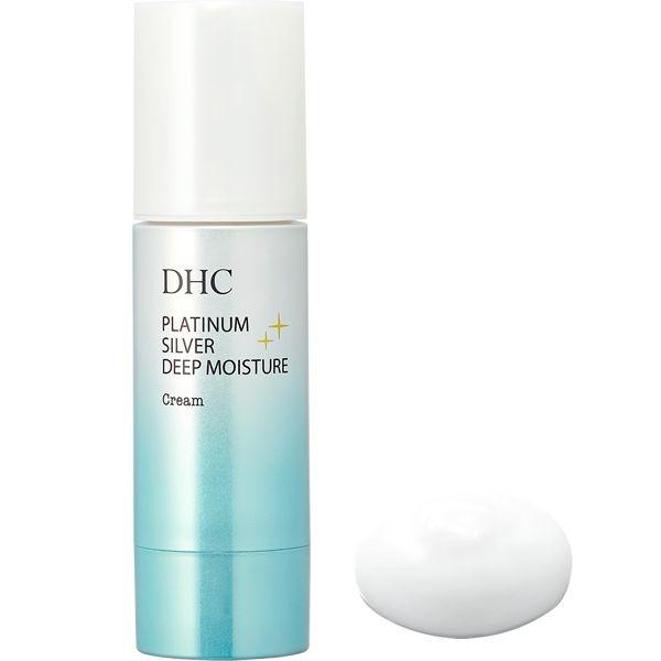 Антивозрастной крем с наноколлоидным серебром и платиной DHC Platinum Silver Deep Moisture Cream