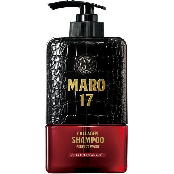 Коллагеновый шампунь MARO 17 COLLAGEN SHAMPOO PERFECT WASH для глубокого очищения волос и кожи головы