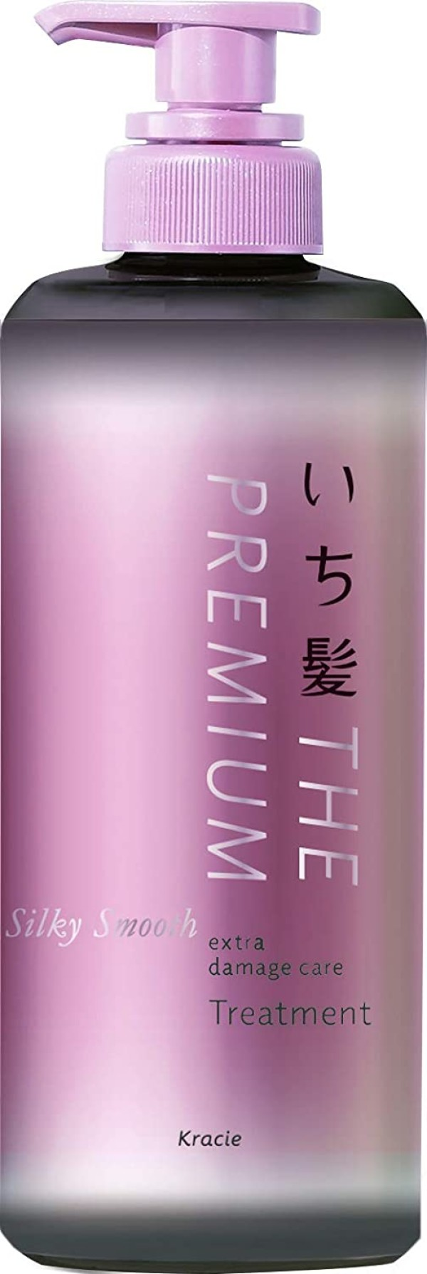 Восстанавливающий кондиционер для гладких, шелковистых волос Kracie Ichikami THE PREMIUM Silky Smooth Extra Damage Care Treatment