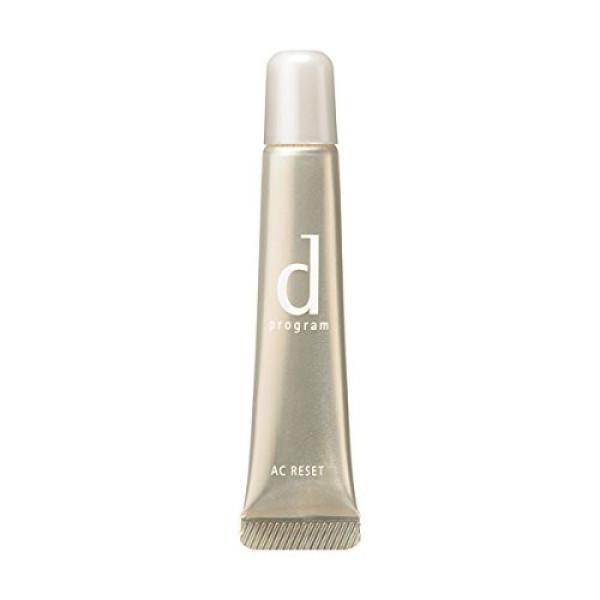 Сыворотка Shiseido D-Program AC reset «Перезагрузка кожи» против кожных воспалений