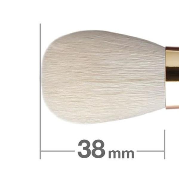 Кисть для пудры и румян HAKUHODO Misako Portable Powder & Blush Brush
