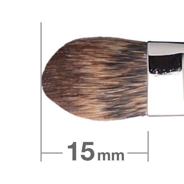 Кисть для теней HAKUHODO Eye Shadow Brush Round & Flat 223