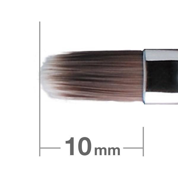 Кисть для губ HAKUHODO Retractable Cover Lip Brush Round & Flat PBT