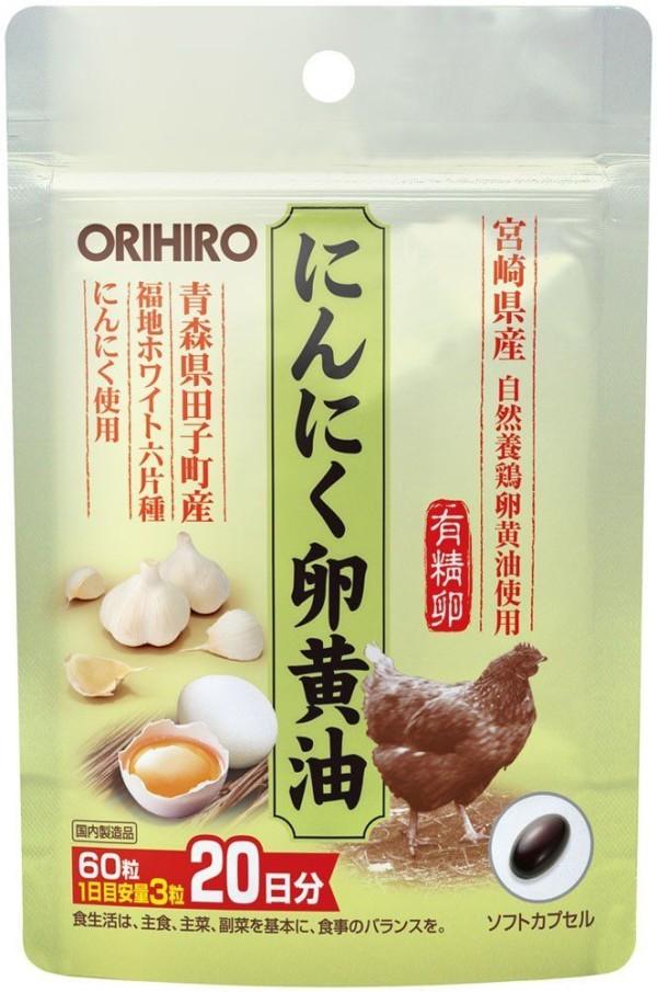 Яичный экстракт и чеснок Orihiro