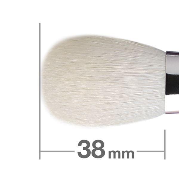 Кисть для румян HAKUHODO Blush Brush Round & Flat B110
