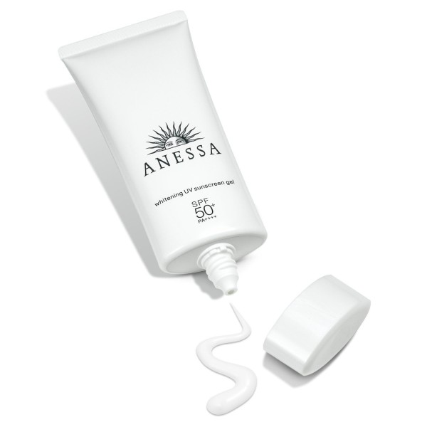 Отбеливающий санскрин для лица Shiseido ANESSA Whitening UV Sunscreen Gel (quasi-drug) SPF50+ PA++++