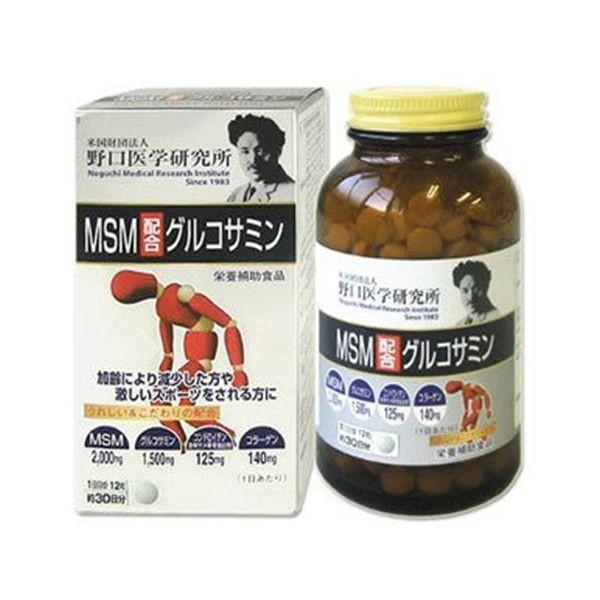 MSM (МСМ) + Глюкозамин Meiji для восстановления структуры хрящевой ткани