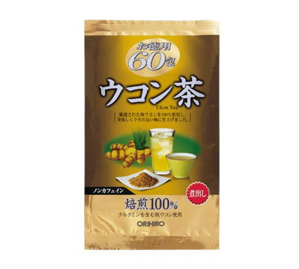 Чай с куркумой Orihiro Ukon TEA в пакетиках
