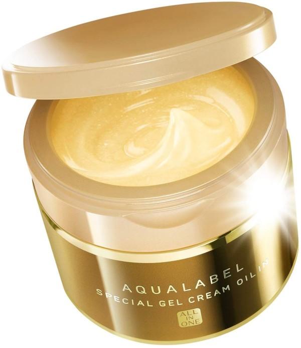 Антивозрастной крем-гель с маслами Shiseido AQUALABEL Special Gel Cream Oil In Aging Care Type All-in-One