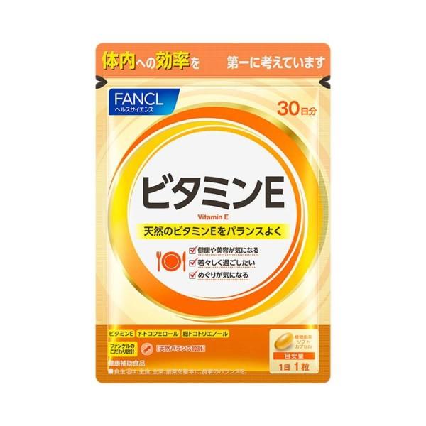 Витамин Е (натуральный микс) FANCL