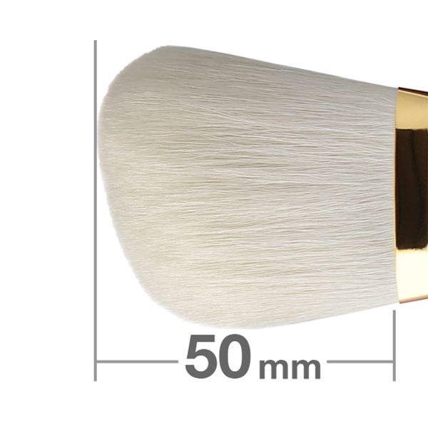 Универсальная кисть HAKUHODO Finishing Brush Angled S100Bk