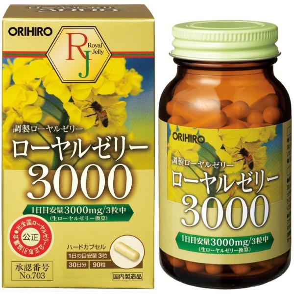 Маточное молочко Orihiro Royal Jelly 3000