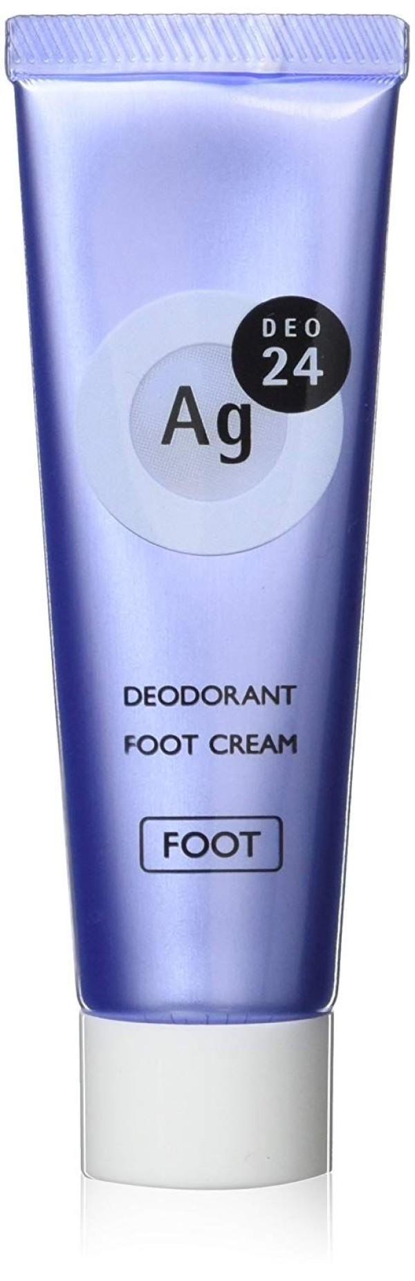 Дезодорант - крем для ног SHISEIDO Ag+ FOOT CREAM