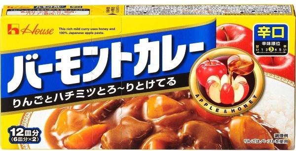 Японское карри Housefood Vermont яблоко и мёд (сладко-острое)
