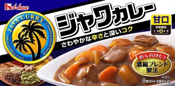 Японское карри Housefood Java умеренно острое