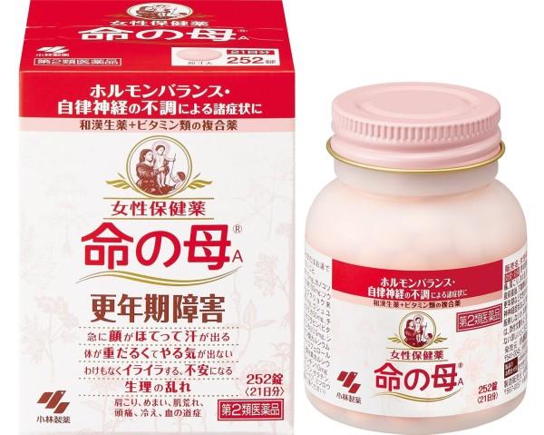 Комплекс для поддержания женского здоровья в период менопаузы Мать жизни KOBAYASHI Inochi no Haha А после 40 на 21 день