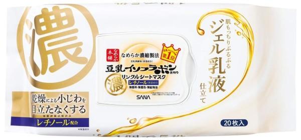 Тканевые маски Sana Nameraka Honpo Wrinkle Sheet Mask