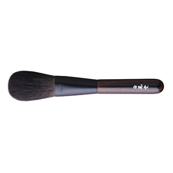Кисть для пудры HAKUHODO Kokutan Powder Brush M