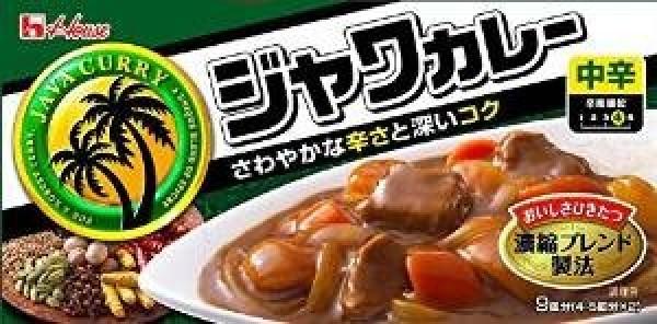 Японское карри Housefood Java острое