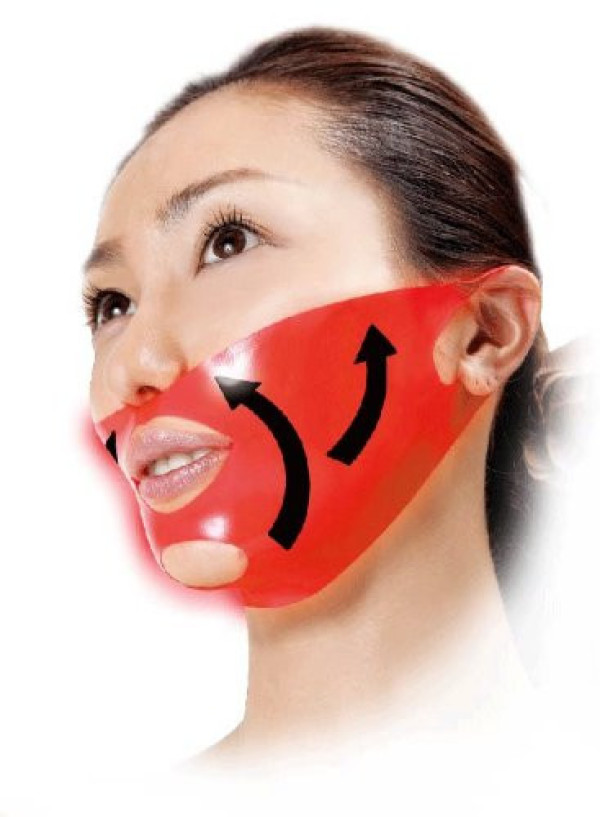 Маска для корректирования контура лица Wrinkle-up Тape