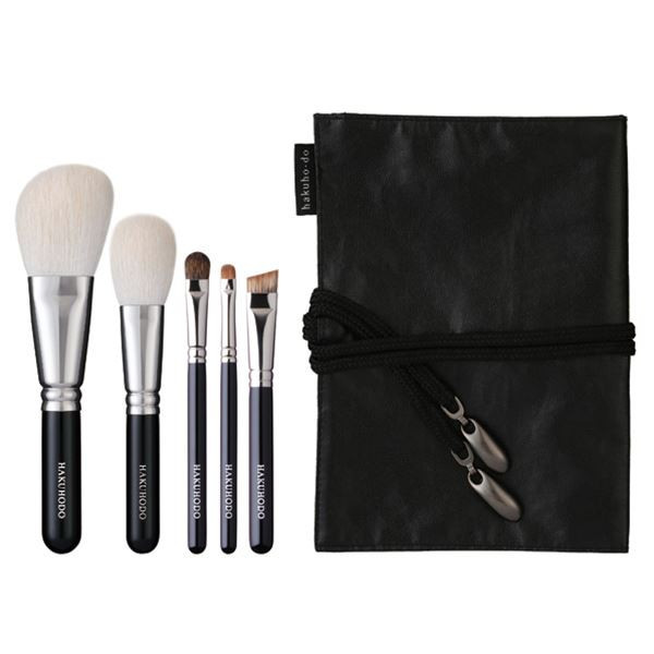 Набор из 5 кистей HAKUHODO Basic Selection Brush Set 5 pcs