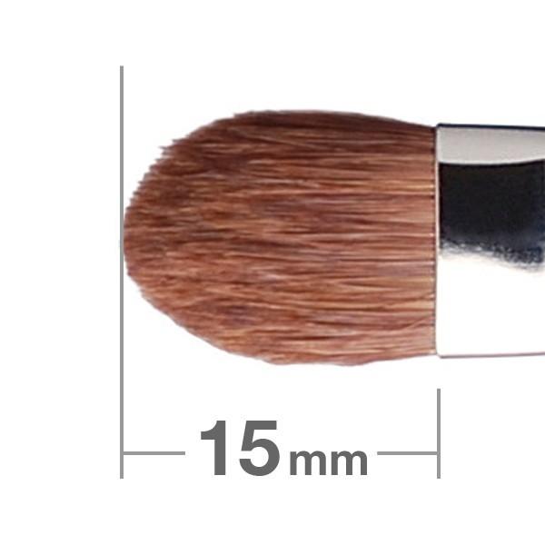 Кисть для теней HAKUHODO Eye Shadow Brush Round & Flat 225