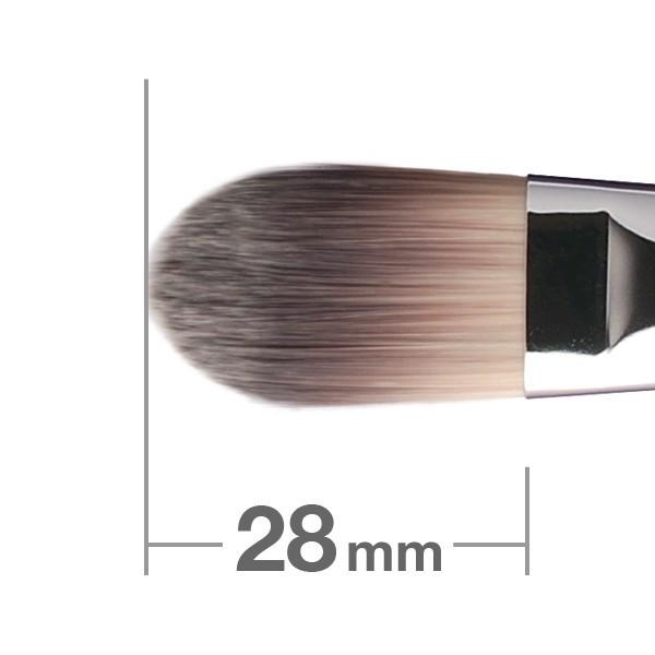 Кисть для основы HAKUHODO Foundation Brush Round & Flat G517