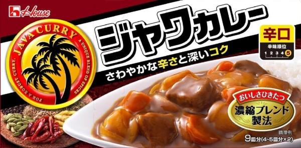Японское карри Housefood Java очень острое