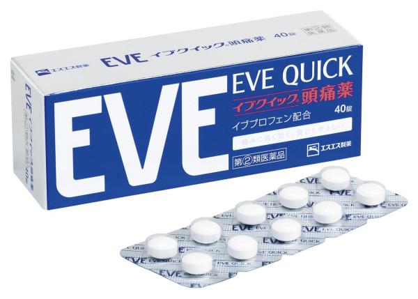 Обезболивающий препарат EVE QUICK от головной боли