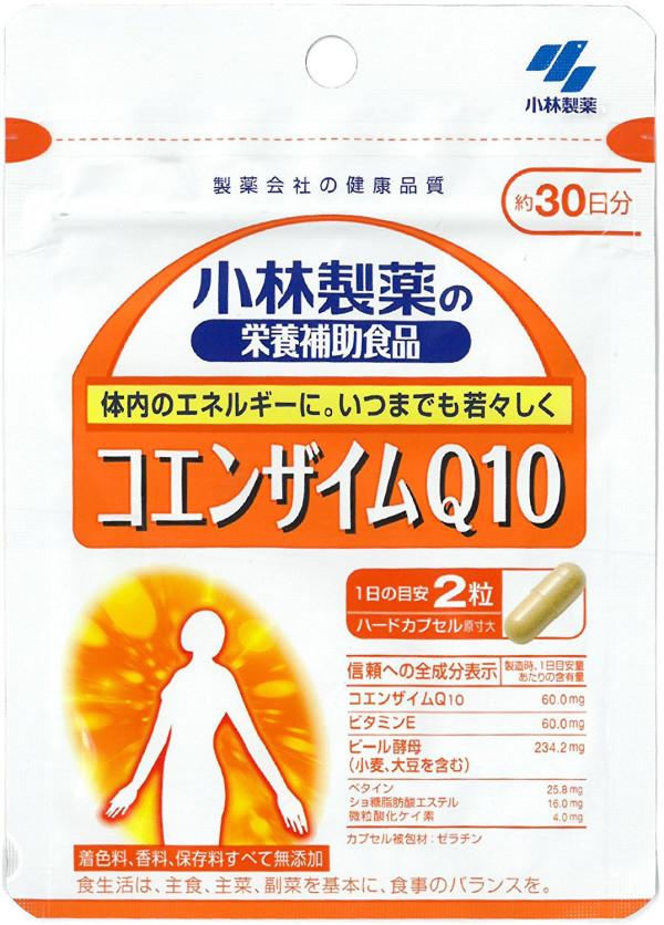 Коэнзим CoQ10 Kobayashi Pharmaceutical