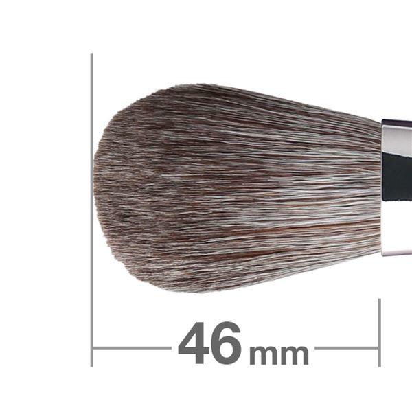Кисть для румян HAKUHODO Blush Brush SH Round & Flat G508
