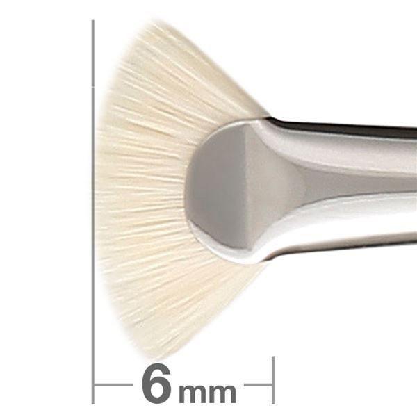 Кисть для бровей Hakuhodo Eyebrow Brush Ougi Short F8122