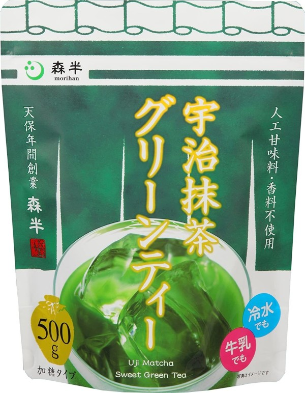 Зеленый чай Morihan Uji Matcha Sweet Green Tea