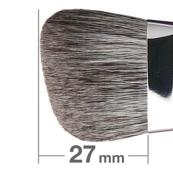 Кисть для румян HAKUHODO Blush Brush L Angled G503