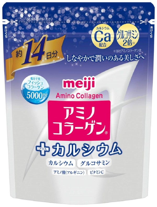 Амино-коллаген + кальций Meiji Amino Collagen Plus Calcium