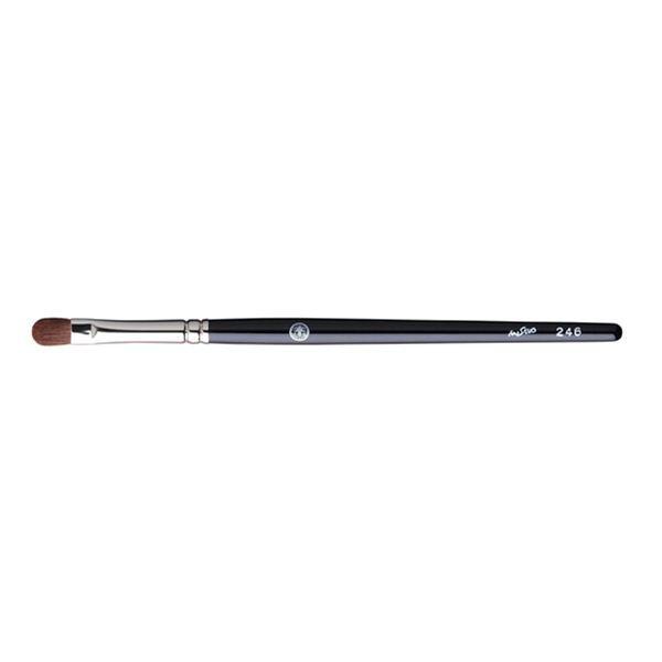 Кисть для теней HAKUHODO Eye Shadow Brush Round & Flat 246