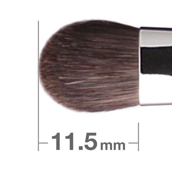 Кисть для теней HAKUHODO Eye Shadow Brush Round & Flat B5507