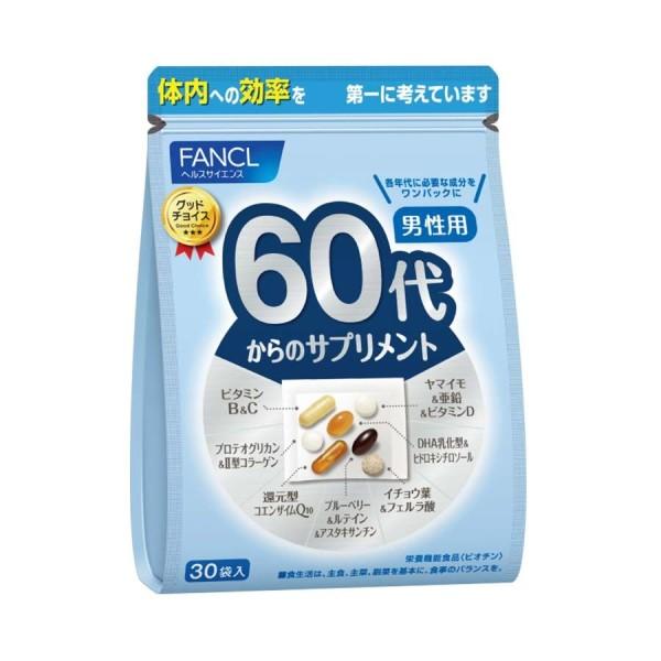 Витаминный комплекс FANCL для мужчин от 60 лет