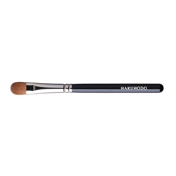 Кисть для теней HAKUHODO Eye Shadow Brush Round & Angled B126