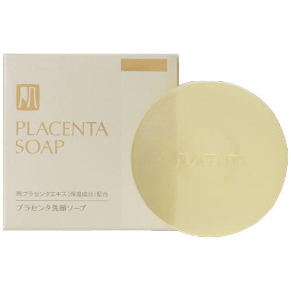 Очищающее мыло для лица Kimiwa Mayuplacen с лошадиной плацентой